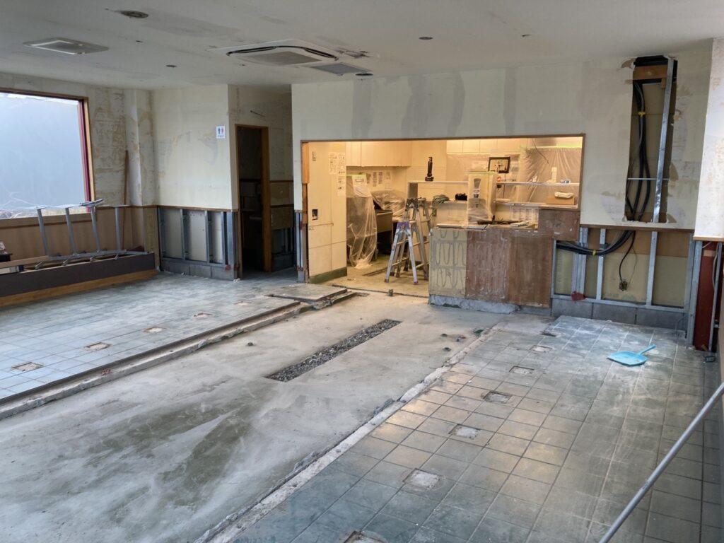 店舗内装解体2画像